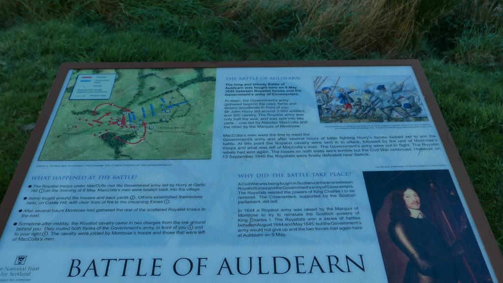Battle of Auldearn details