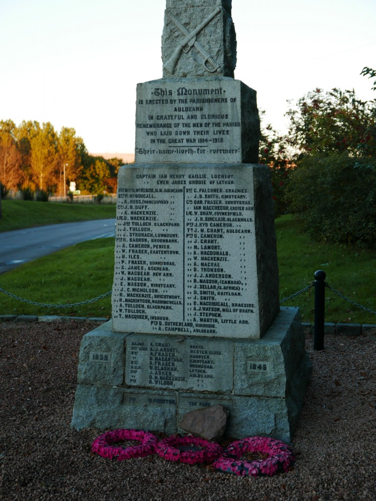 Auldearn War Memorial